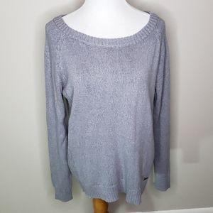 Hoodlamb Gray Boatneck Sweater